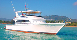 Рыбацкая лодка Флаин Фин (Б19)